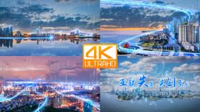 青岛科技智慧城市4K视频素材