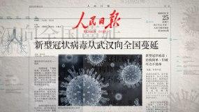 【原创】武汉疫情冠状病毒新闻报道AE模板AE模板