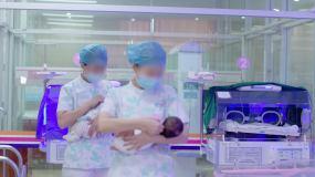 婴儿蓝光室护理F4k视频素材包