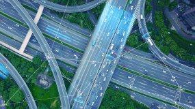 【原创】科技城市智慧交通4K视频素材