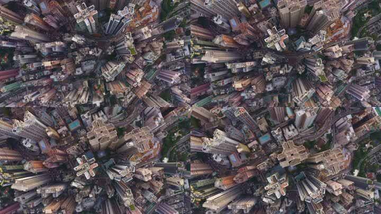 中国香港城市风貌