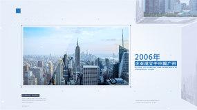 简洁企业立体图文展示版本2AE模板