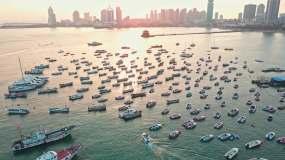 【原创4K】青岛栈桥海湾码头视频素材