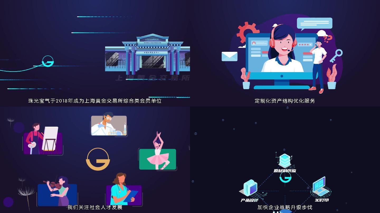 金融企业mg动画宣传片