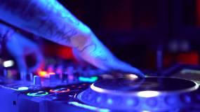 夜场DJ打碟视频素材
