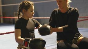 跆拳道运动员视频素材