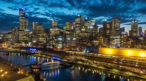 城市天际线视频素材