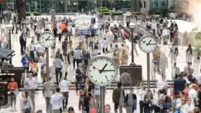 伦敦的钟,时过境迁视频素材