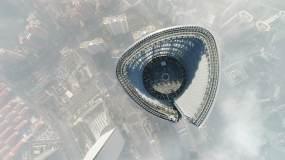 上海天际景观视频素材
