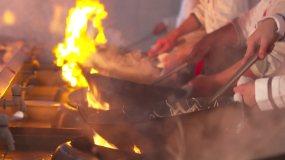 技师学院厨师刀工视频素材