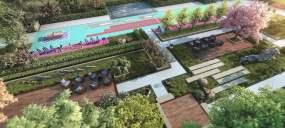 三维园林7个视频素材