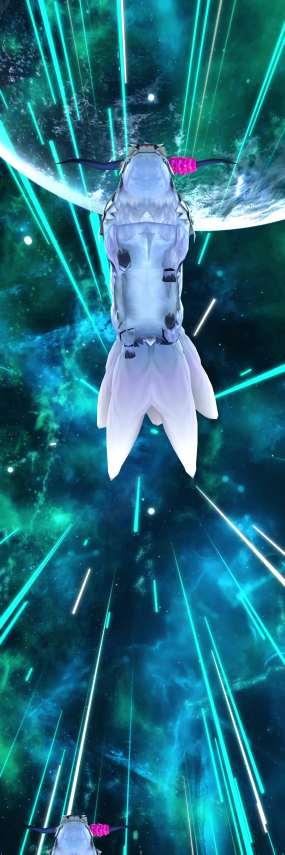 星空牛狐8kLED震撼天幕素材视频素材