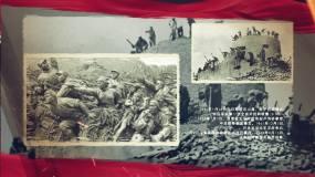 党的光辉历程历史片头抗战片头AE模板