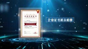 edius企业证书展示EDIUS模板