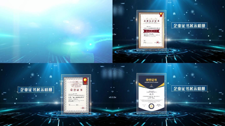 edius企业证书展示