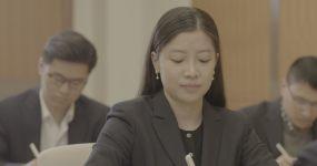 「有版权」MINI拍摄高端商务培训4K视频素材
