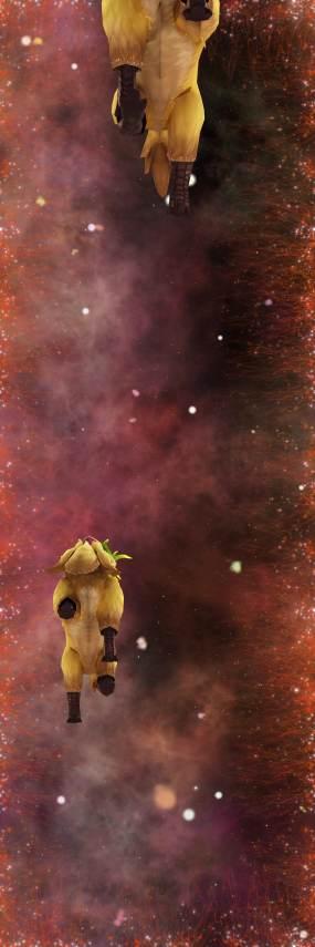 星空鹿猴天幕8kLED震撼天幕素材视频素材