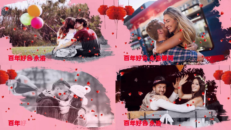 会声会影中式婚庆婚礼电子相册展示
