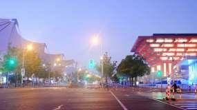 高清上海路面延時視頻素材視頻素材