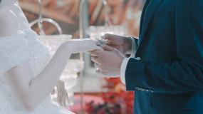 婚禮場布結婚視頻素材