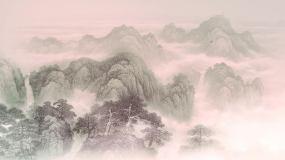11)杜古詩《望岳》水墨中國風詩詞視頻AE模板