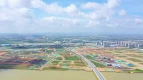 廣州南沙橫瀝島航拍素材視頻素材