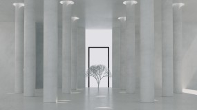 地產創意空間光影變化概念02視頻素材