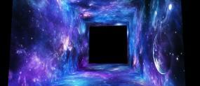 夢幻宇宙四折幕隧道AE模板