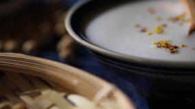 豆漿豆奶豆乳豆制品中國漢族傳統飲品視頻素材