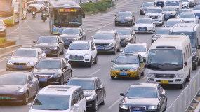城市上下班交通4K視頻素材