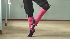 舞者的脚视频素材
