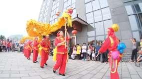 民间舞狮舞龙视频素材视频素材