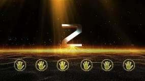 金色手掌启动视频仪式ae模板AE模板