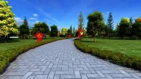 消防公园3Dmax