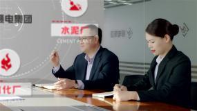 4k科技企业办公商务工作办公室会议室商务AE模板