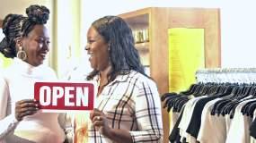 服装店开业视频素材