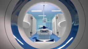 断层磁共振医学检查视频素材