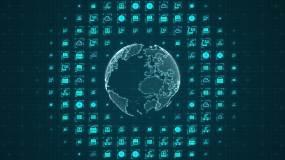 5G科技网络AE模板