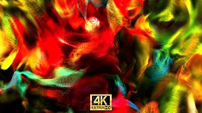 唯美色彩流动抽象背景视频素材