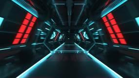 科技隧道AE模板AE模板