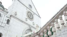 西式洋楼外景教堂实拍视频素材视频素材