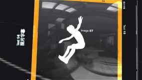 3D虚拟空间展示照片幻灯片宣传视频相册AE模板