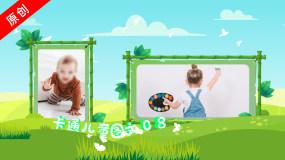 【原创】卡通大自然儿童图片_20张文字版AE模板