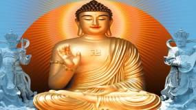 佛祖视频素材