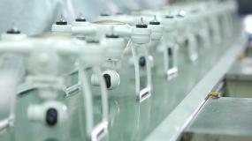 航拍器生产,高科技产业,小飞机制造视频素材包