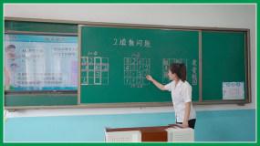 小学数学课多角度实拍视频素材