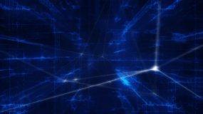 抽象科技网络纵深背景1视频素材