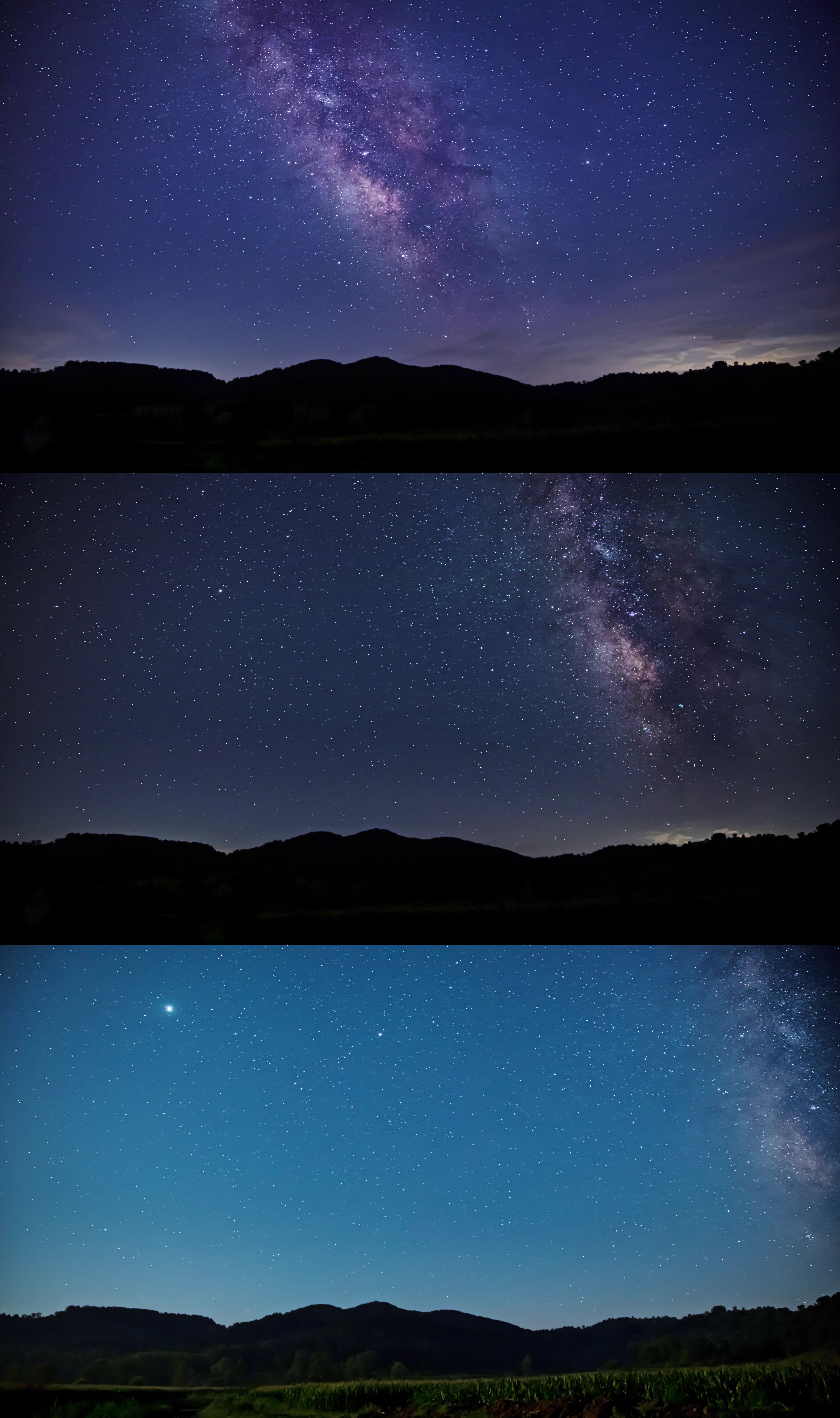 夏季星空银河延时4K