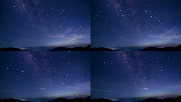 星空星河延时实拍