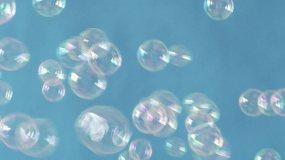 彩色泡泡视频素材